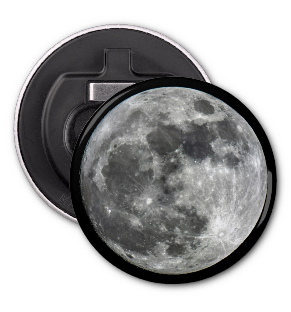 Full Moon Bottle Opener