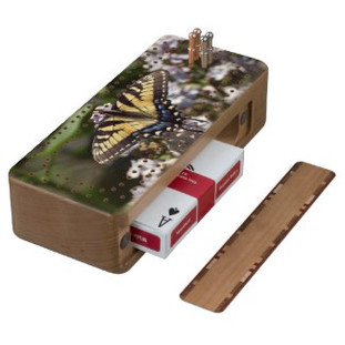 Tiger Swallowtail Butterfly Cribbage Board