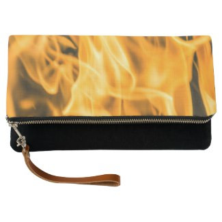 Bonfire Fold-Over Clutch