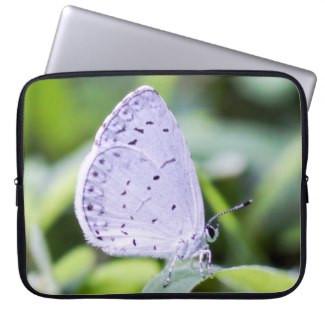 Spring Azure Butterfly Neoprene Laptop Sleeve