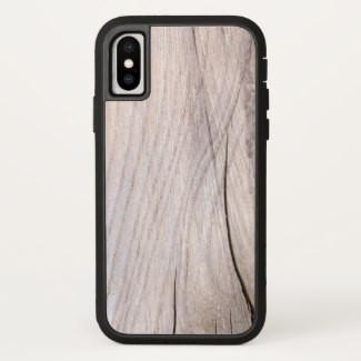 Cracked Wood Grain IPhone Case
