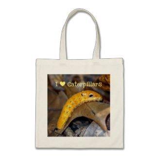 I Love Caterpillars Budget Tote Bag