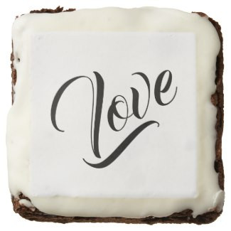 Monochromatic Love Square Brownies