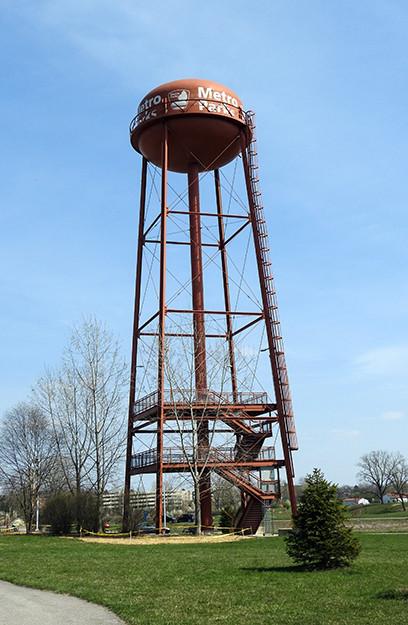Water Tower at Scioto Audubon Metro Park