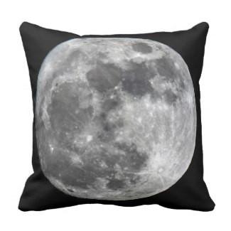 Supermoon Moon Throw Pillow