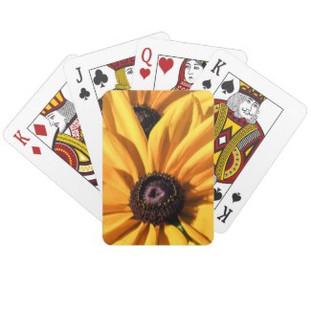 Black Eyed Susan Playing Cards