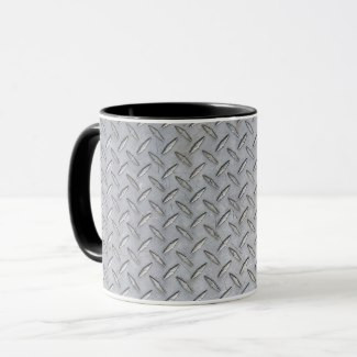 Diamond Plate Design Coffee Mug