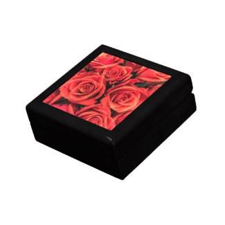 Roses Keepsake Jewelry Gift Box