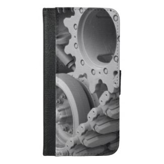 Tank Gears and Track iPhone 6/6s Plus Wallet Case