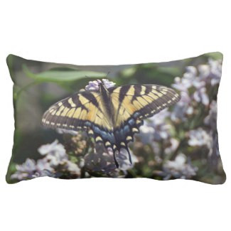 Tiger Swallowtail Lumbar Pillow