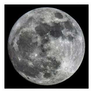 Supermoon Moon Poster