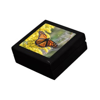 Monarch Butterfly Mother's Day Keepsake Gift Box