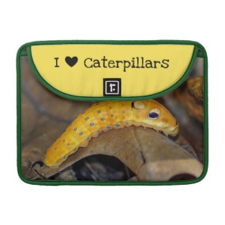 I Love Caterpillars Swallowtail MacBook Pro Sleeve
