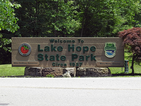 Lake Hope State Park - Peninsula Trail