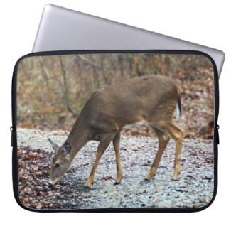 White-Tailed Deer Neoprene Laptop Sleeve