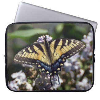 Tiger Swallowtail Butterfly Neoprene Laptop Sleeve