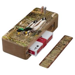 Mallard Duck Cribbage Board