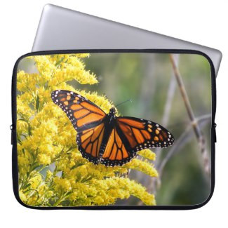 Monarch Butterfly Neoprene Laptop Sleeve