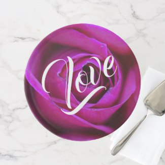 Rose Love Cake Stand