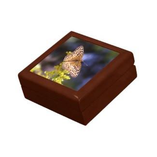 Butterfly Keepsake Jewelry Box