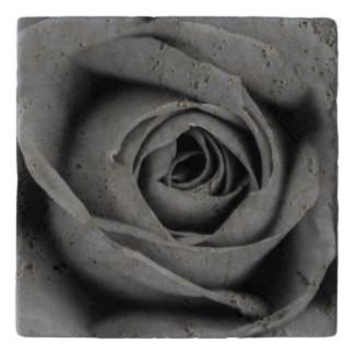Monochromatic Rose Stone Trivet