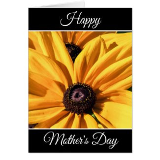 Personalized Happy Mother's Day Flower Card