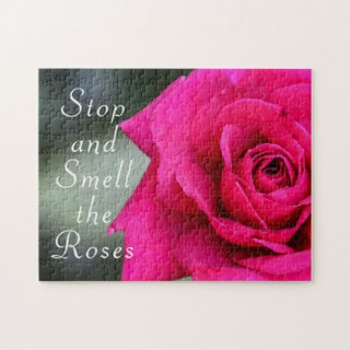 Stop and Smell the Roses Rose Puzzle