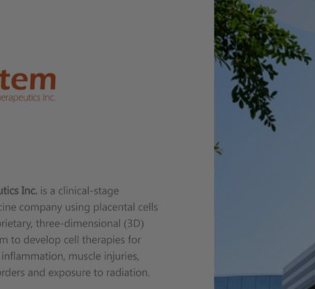 Pluristem: a clinical-stage regenerative medicine company with FDA approved manufacturing process