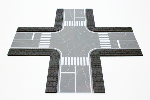 [PBGR SS2-04] DESTROYED CITY CROSSROAD - SS2 / MS GRADE (1/144 SCALE)