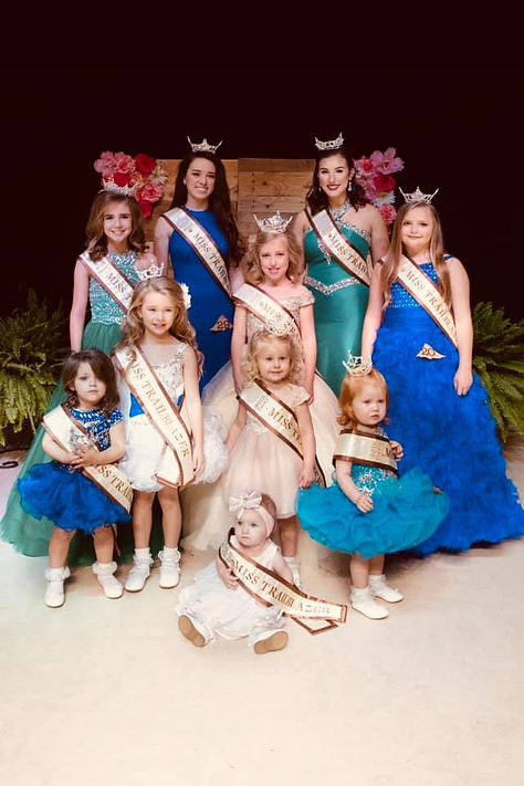 2019 Miss Trailblazer Pageant Queens