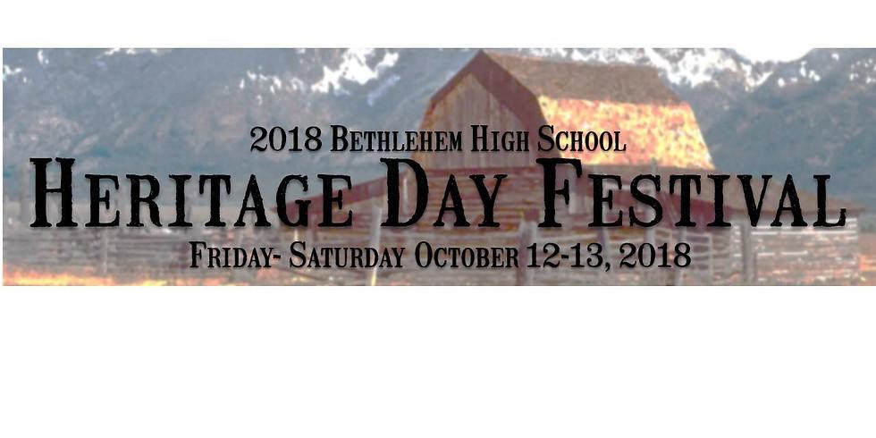 Bethlehem High School Heritage Day