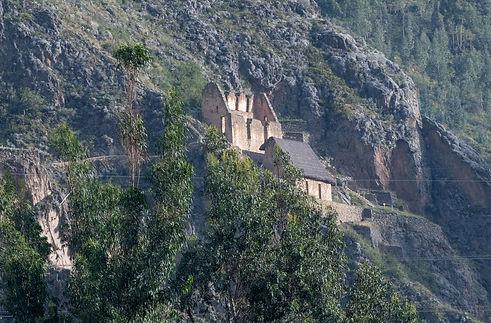 Ollantaytambo Grainery Ruins
