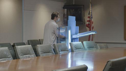 UVHammer in Board Room