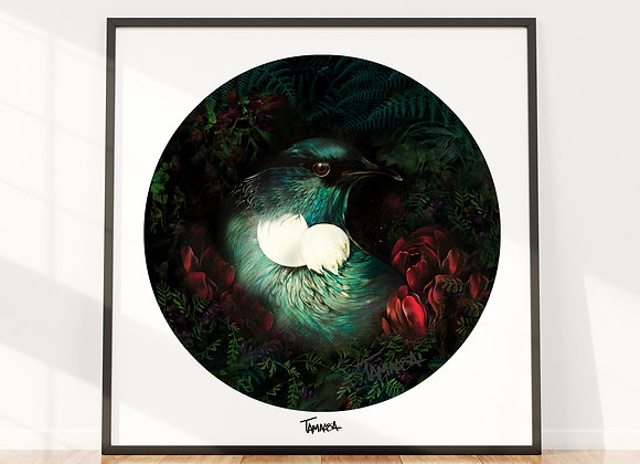 Tui Forest Poster (print only)