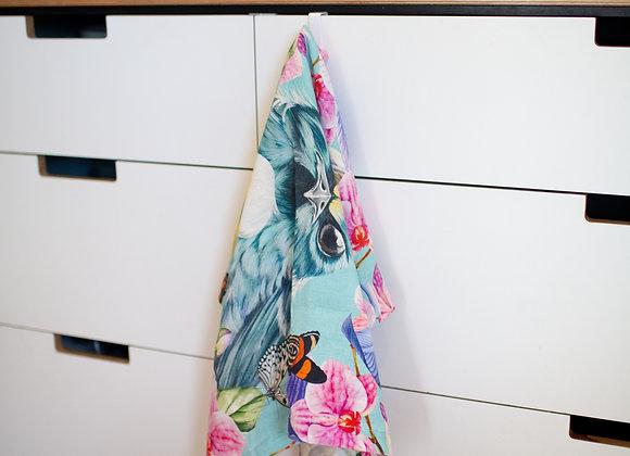 French Flax Linen tea towel 50 x 70