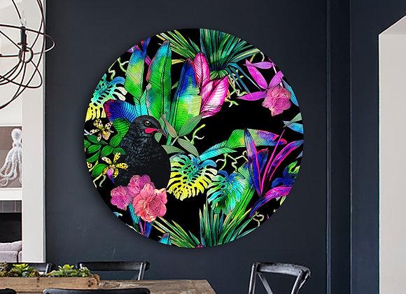 Huia tropics male Glass Art