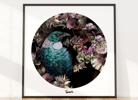 Tui Blossom Poster (print only)
