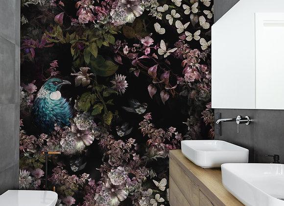 Tui Blossom Wall mural