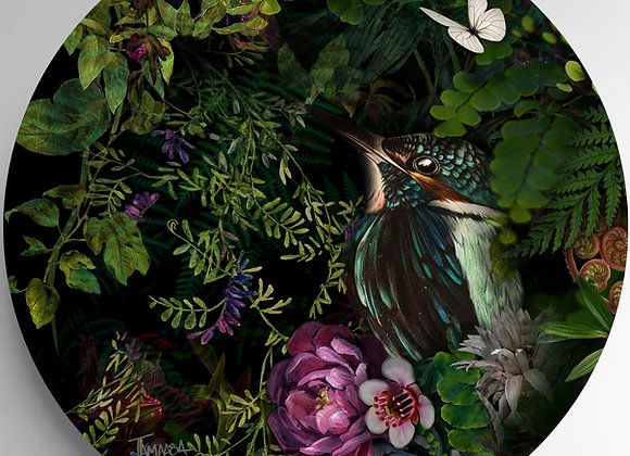 Kingfisher Glass Art