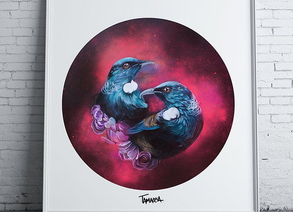 Kotahitanga - Collectors edition signed Art print unframed
