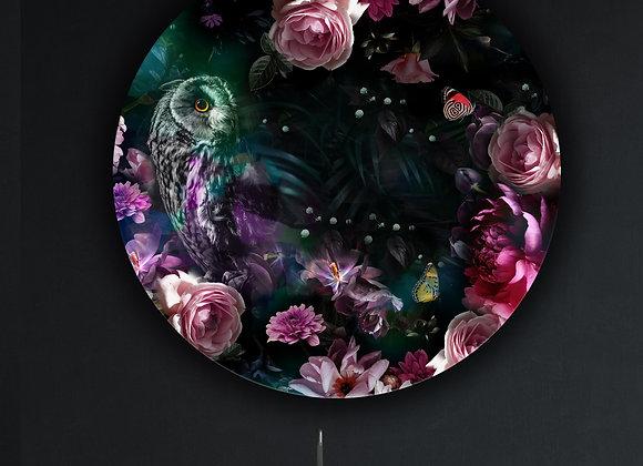 Matariki Ruru Glass Art