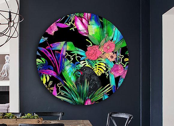Huia tropics female Glass Art