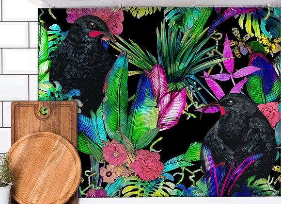 Huia Tropics DIY Splashback