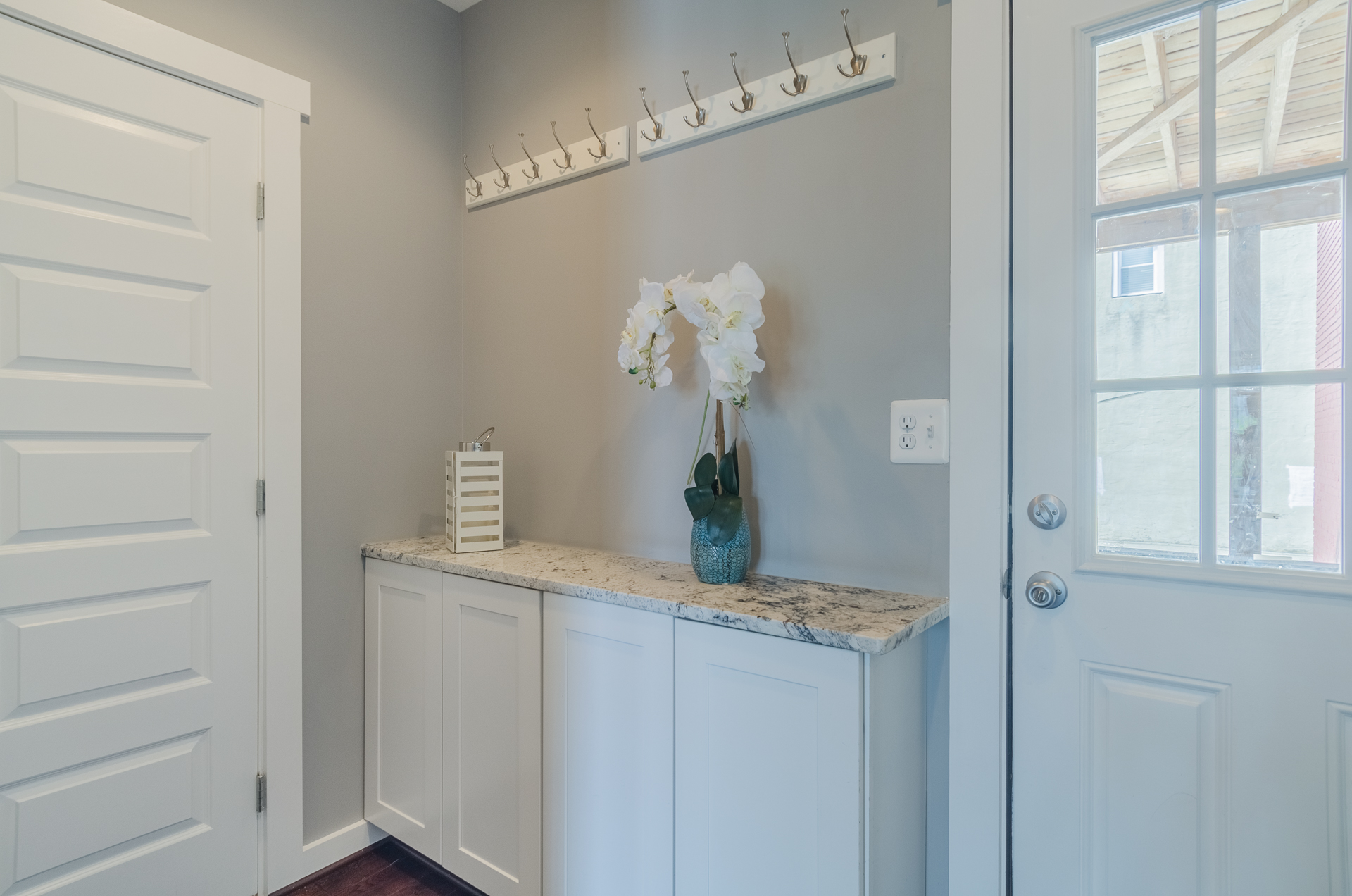 Mud Room Entrance