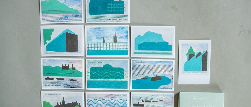be-poles Prints Pack Cards -STOCKHOLM-