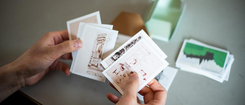 be-poles Prints Pack Cards -MADRID-