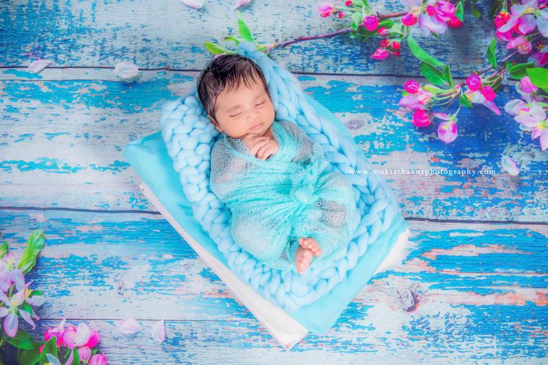 Theme Based Newborn Photoshoot By Mukta