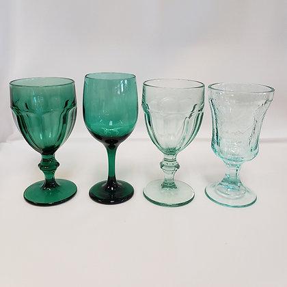 Emerald Depression Glassware