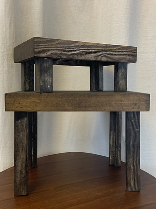 Assorted Wooden Stands