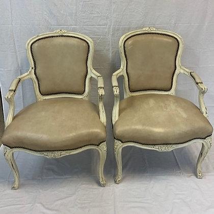 Clara French Arm Chair Set